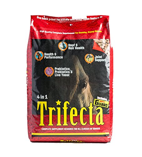 Horse Guard Trifecta Equine Vitamin Mineral Joint Hoof & Probiotic Supplement, 40 lb