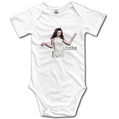 36752e2a3751 BCOWBONEOWGDF Lorde Newborn Boys Girls Onesies Babes Coveralls T Shirt White