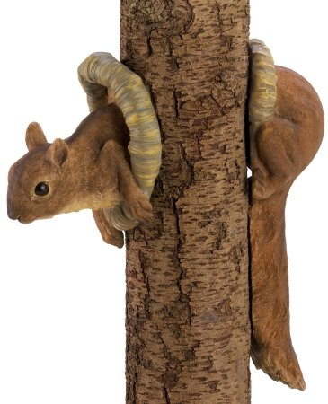 Zingz & Thingz 12788 Woodland Squirrel Tree Dècor