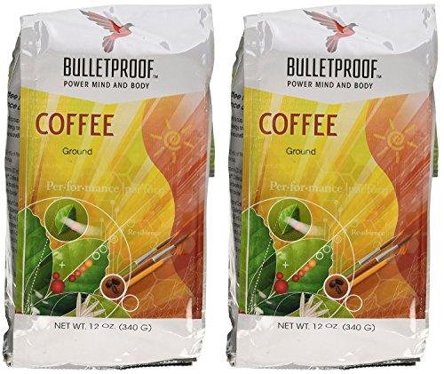 Bulletproof Ground qCXaA Coffee, 12 Oz (2 Pack)