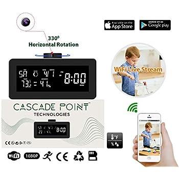 Spy-MAX Video EZ Wireless Weather Station Hidden Camera