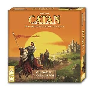 Catan Devir, expansión Ciudades y Caballeros, juego de mesa (BGCIUDADES)