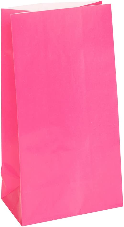 Large Party Bags Unique Party 5903 Assorted Pack of 8