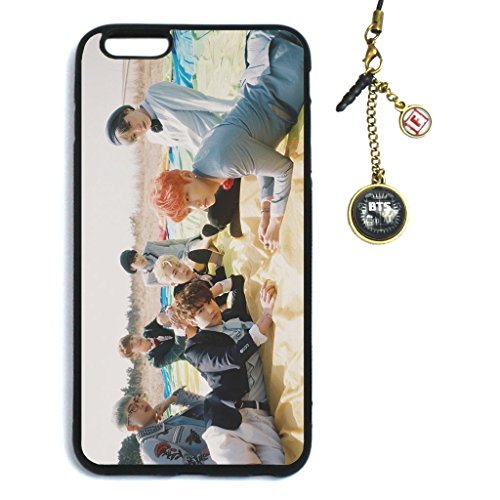 Fanstown KPOP BTS Bangtan Boys in the mood for love EPILOGUE:Young Forever iPhone 6 plus/iPhone 6s plus case + Dust plug charm (002)