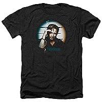 Trevco Men's Californication Short Sleeve T-Shirt, Handcuffs Heather Black, Medium