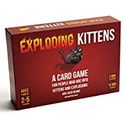 Amazon #DealOfTheDay: 25% Off Exploding Kittens Game