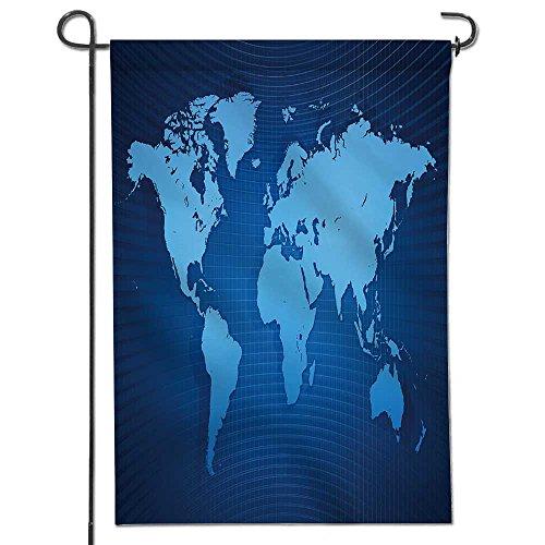 SCOCICI1588 Welecome Summer Garden Flag,Blue similar world m