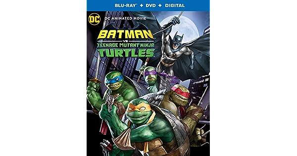 Amazon.com: Batman vs. Teenage Mutant Ninja Turtles (Blu-ray ...