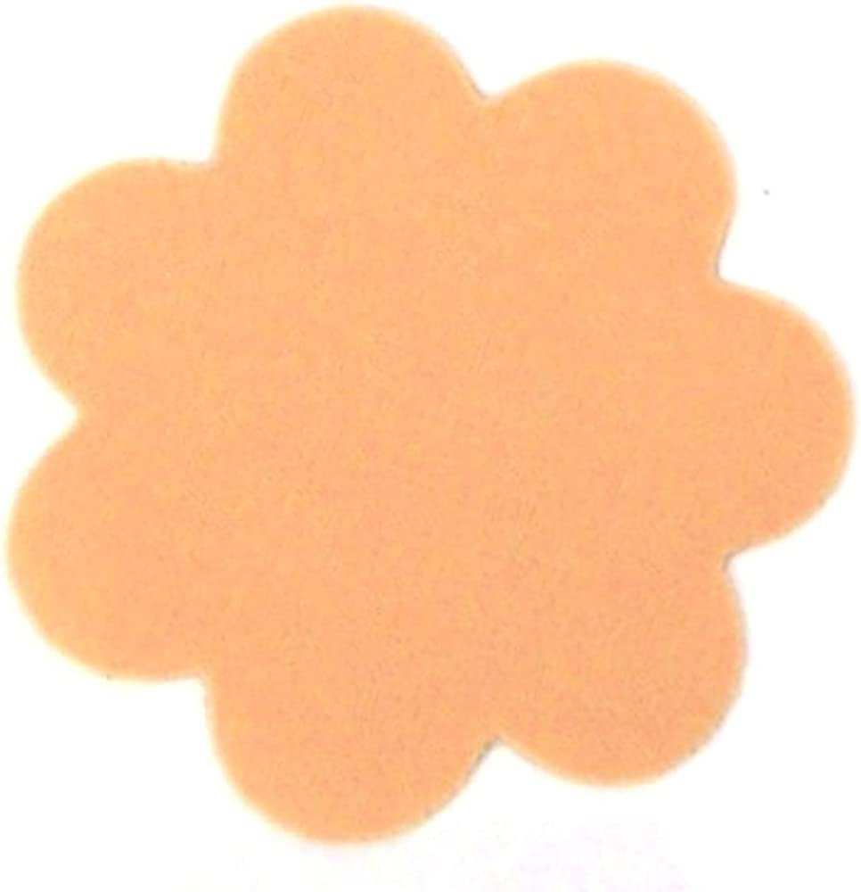2 Count Braza Silicone Re-use Petal Nipple Covers Beige