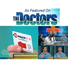 Medical ID as seen on THE DOCTORS - 911 Alert, Emergency Medical Information USB Card - The Size of a Credit Card!