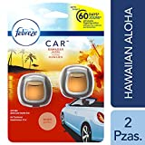 Febreze Febreze Car Vent Clips Hawaiian Aloha Air Freshener 2 Count - Packaging May Vary