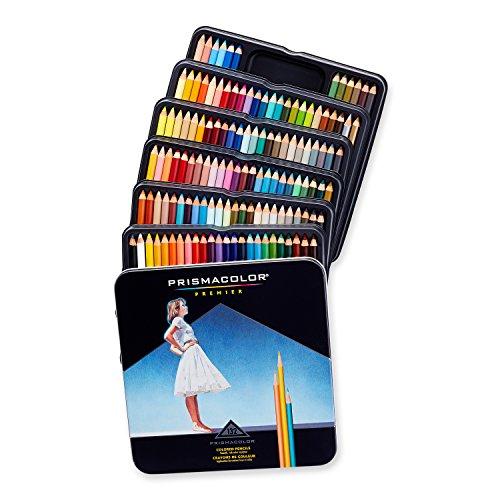 Prismacolor Premier Colored Pencils, Soft Core, 132-Count