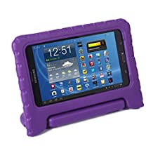 HDE Samsung Galaxy Tab 4 7.0 Case Kids Shock Proof Cover Stand for 7 inch Galaxy Tab 4 Tablets (Purple)