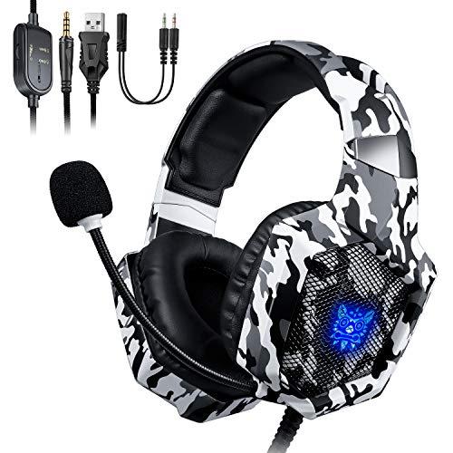 🥇 ONIKUMA Auriculares Gaming