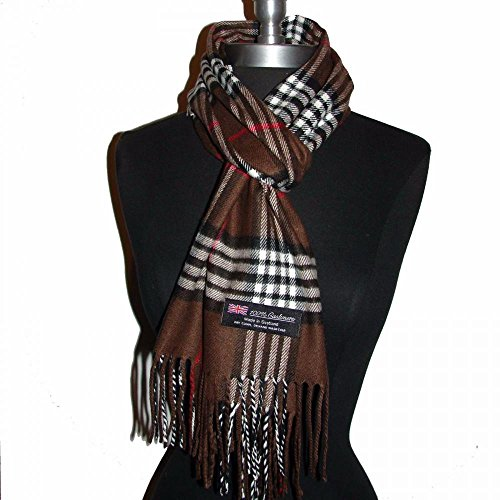Brown_(US Seller)Scarf Check Plaid Scotland Winter Cute Women Men - - Urban Outfitters Sunglasses Circle