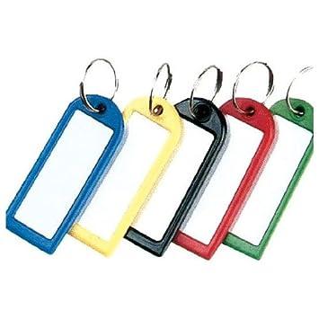 Boite de 20 portes clés assortis avec anneaux Helix W21070  Amazon ... f41c8c31f2c