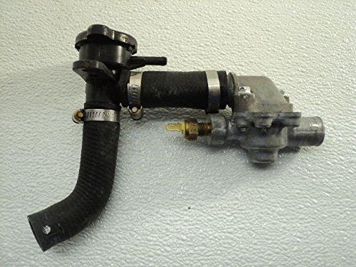Foot File Call Us - Kawasaki EX250 EX 250 Ninja #6108 Thermostat Housing & Radiator Filler