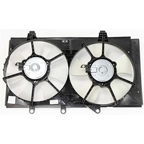 Radiator Fan Assembly for Dodge Neon 04-05 Automatic Transmission Dual Fan 4 Speed 2.0L ENG. ()