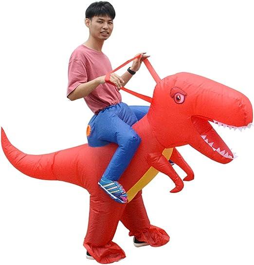 Godyluck Disfraz Inflable de Dinosaurio Blow Up Disfraz Adulto ...