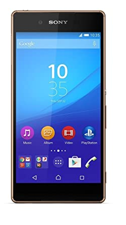 Sony Xperia Z3+ (Copper, 32GB) Smartphones at amazon