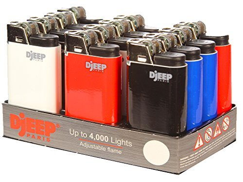 12 - Djeep - Classic Lighters