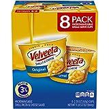 Velveeta Shells & Cheese Pasta, Original, Single Serve Microwave Cups, 8 Count