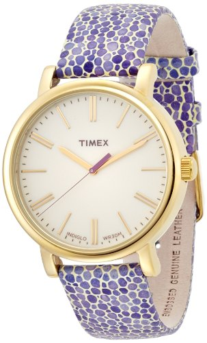 Timex Originals T2P326 Ladies Original Purple Mosaic Strap Watch