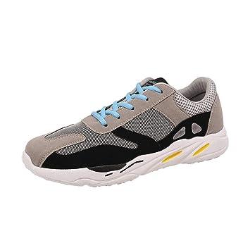 ZHRUI Zapatos deportivos al aire libre para hombres, mujeres, entrenadores Pisos Chanclas Chanclas Alpargatas Cuña Correr Caminar, Calzado casual para ...