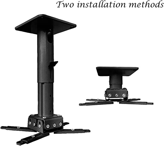 Wall Ceiling Mount Bracket For Universal LCD DLP Projector Hanger 25kg Loading