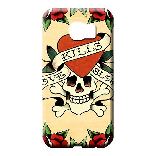Sanp On Phone Carrying Case Cover ed hardy Skin CasesCovers For Phone Hot Style Samsung Galaxy S6 Edge ()