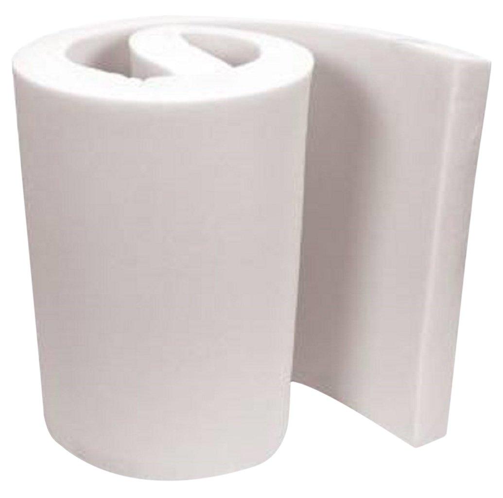 "FoamTouch Upholstery Foam Cushion Medium Density Standard, 4"" L x 24"" W x 72"" H 4x24x72MDF"
