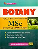 Botany For All Indian Universities M.Sc Entrance Exam.