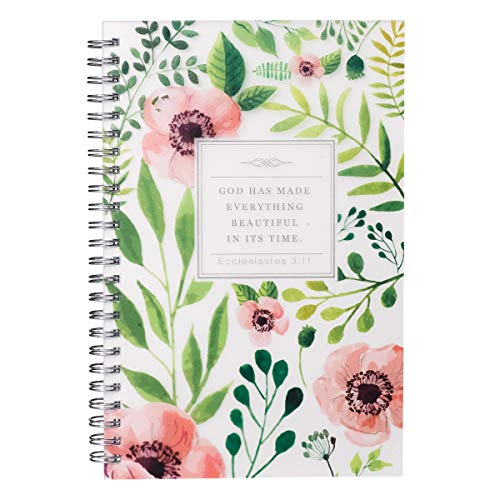(Everything Beautiful in its Time Wirebound Notebook - Ecclesiastes 3:11)