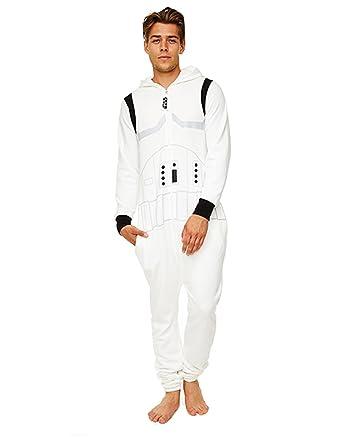 Star Wars Pijama, para Hombre Stormtrooper Onesie Mono Color ...