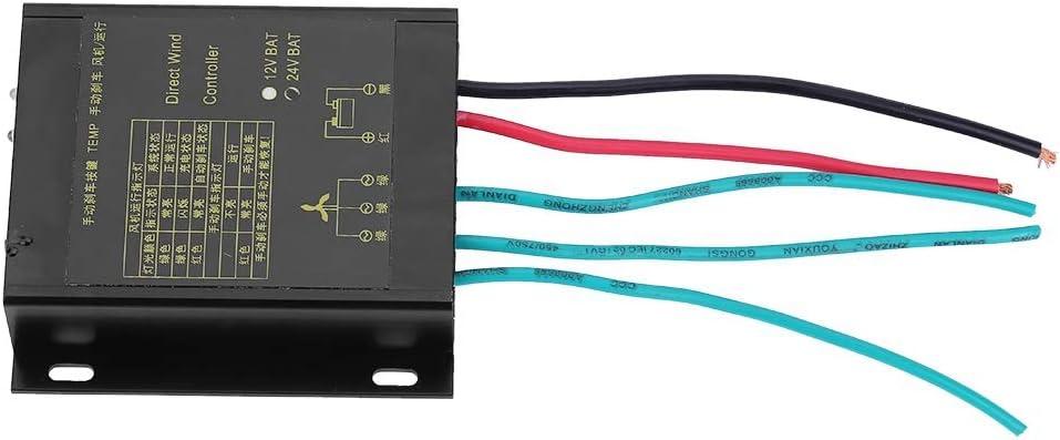 Regulador de la Carga del Viento de la Prenda Impermeable 400W con la función Auto y Manual del Freno para el generador de la turbina de Viento(24V)