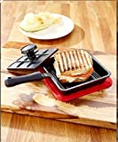 fry pan with press - 6 In Panini Cast Iron Pan Sandwich Lodge Breakfast Fry Mini Baking Bread With Press Pie Roasting Pancake Cooking Pans Kitchen Grill Cheap Tools Cookware Cooking Griddle For Gift