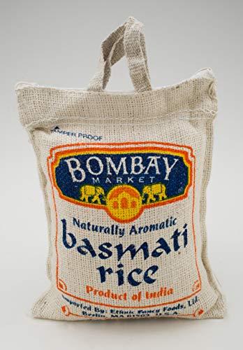 (Bombay, White Rice, Basmati, 4 Pound)