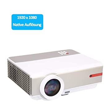 Full HD proyector de Vídeo 1080p Video Proyector Home Cinema ...