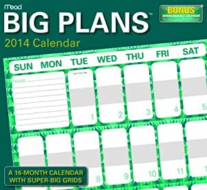 Big Plans 2014 Wall Calendar