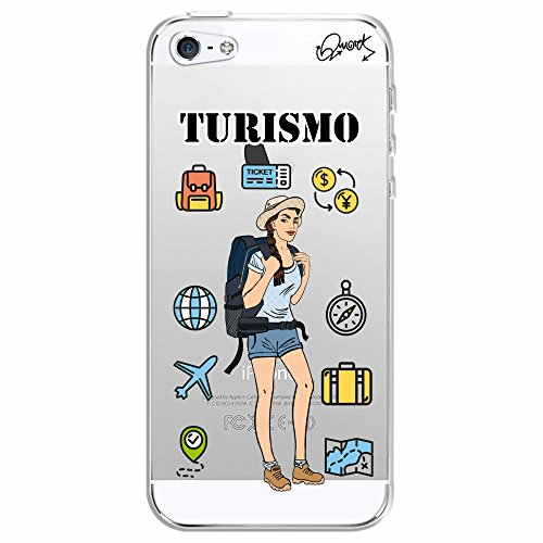 Capa Personalizada para Apple iPhone 5 - TURISMO FEM - Quark