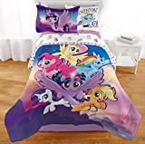 My Little Pony Twin Comforter, Sheet Set & BONUS PILLOW SHAM (5 Piece Bed In A Bag) + HOMEMADE WAX MELTS