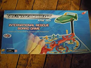 thunderbirds are go international rescue board game