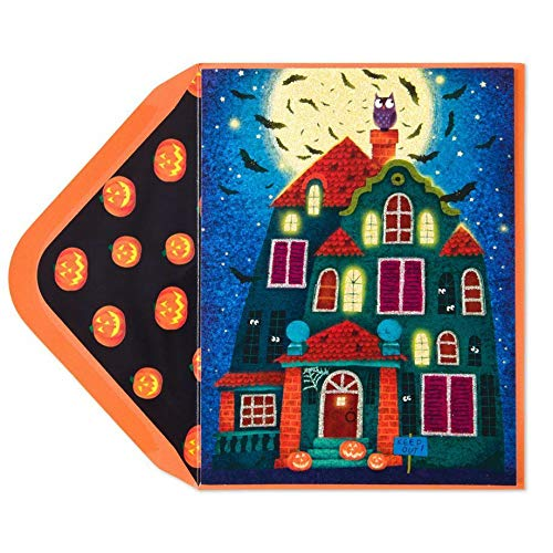 Greeting Card Halloween Violeta Dabija Haunted House Pop Out Windows Halloween Treats Card For Friends For Family -