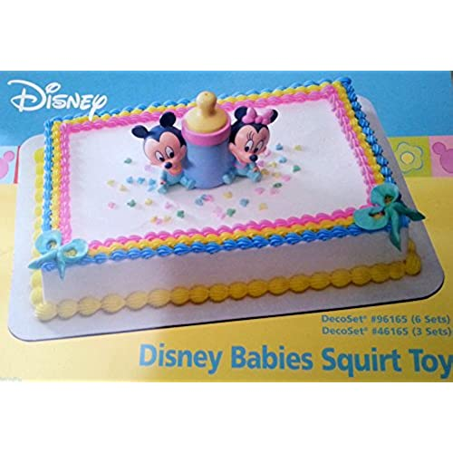 Awesome Disney Babies Mickey Minnie Cake Topper Decoration Party Baby Shower
