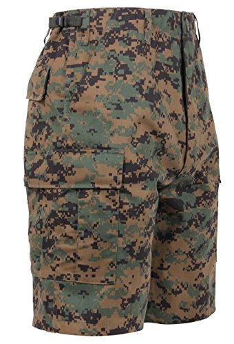 Camouflage Woodland Shorts - Uf Bdu Short Woodland Digital Camo - P/c, XLRG
