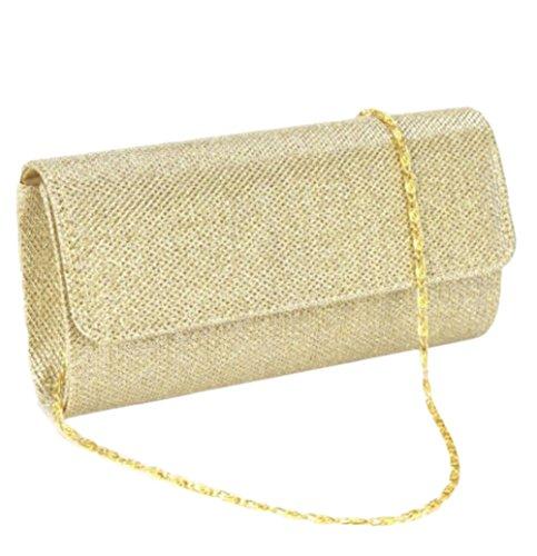 or Mariage Soir Sac de Nuptiale Sac de Soirée Femmes Embrayage Pochette Or main à w6qT5XOnWx