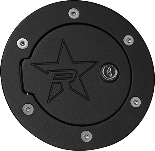 RBP RBP-6107KL-RX2 Black Locking Fuel Door, 1 Pack (Door Fuel Silverado)