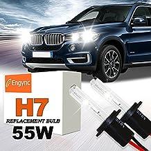 Engync® 55W H7 Xenon HID Replacement Bulbs   Hi/Low 6000K Diamond White Color