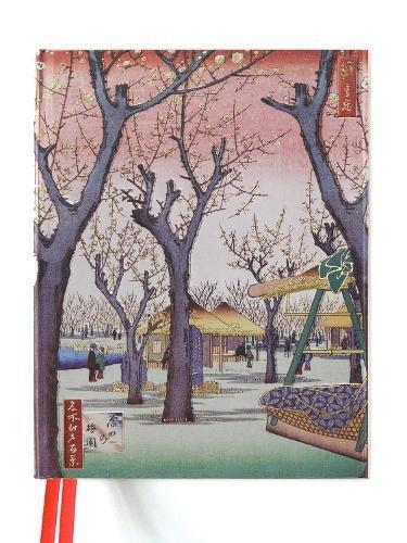Hiroshige: Plum Garden (Blank Sketch Book) (Luxury Sketch -