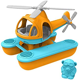 Toy Sea Copter, Orange/Blue by Green Toys